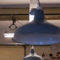 lighting in the new workshop area